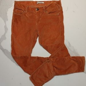 Free People Corduroy Pants Size 26
